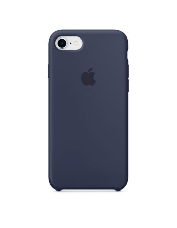Чехол для iPhone Apple iPhone 8 / 7 Silicone Midnight Blue